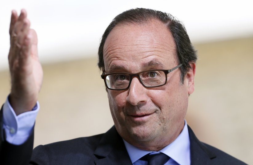 François Hollande inaugure l\