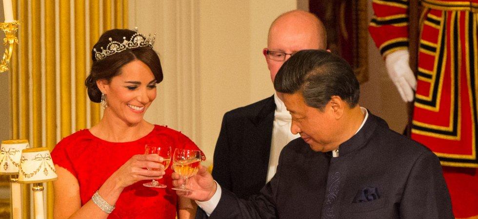 Kate Middleton : elle brille au cours d'un dîner d'Etat