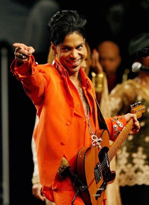 Prince en concert à Miami Beach, en février 2007.