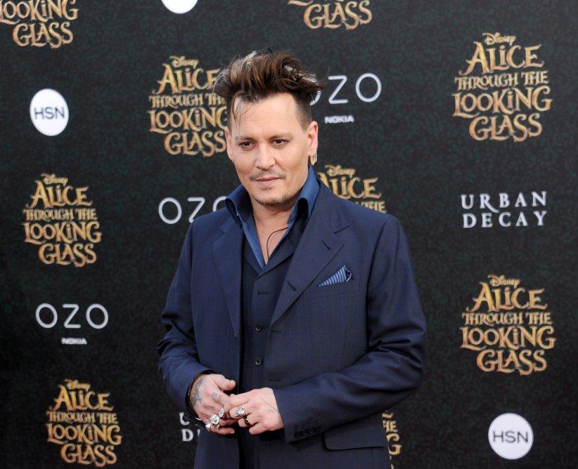 Johnny Depp lors de l\