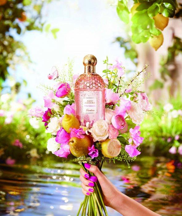Parfum Aqua Allegoria Pera Granita de Guerlain : 89 euros les 125 ml.