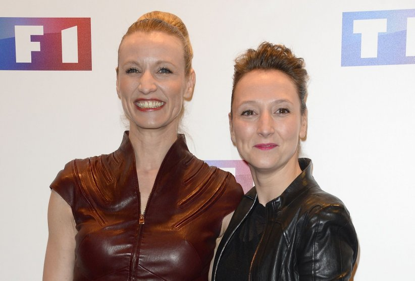Alexandra Lamy et sa soeur Audrey Lamy à l\