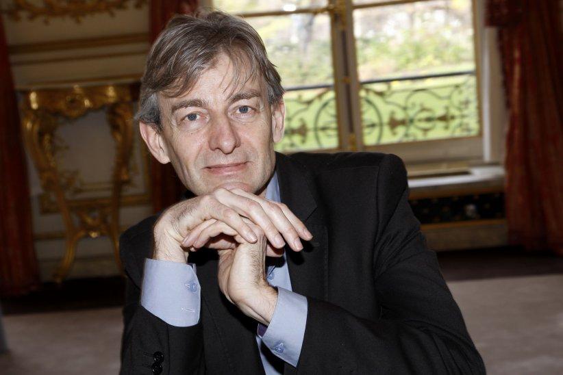 Portrait de Gilles Verdez réalisé en février 2014.