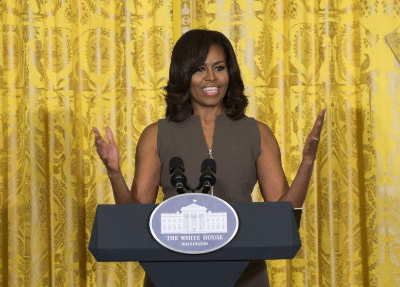 Michelle Obama lors d\
