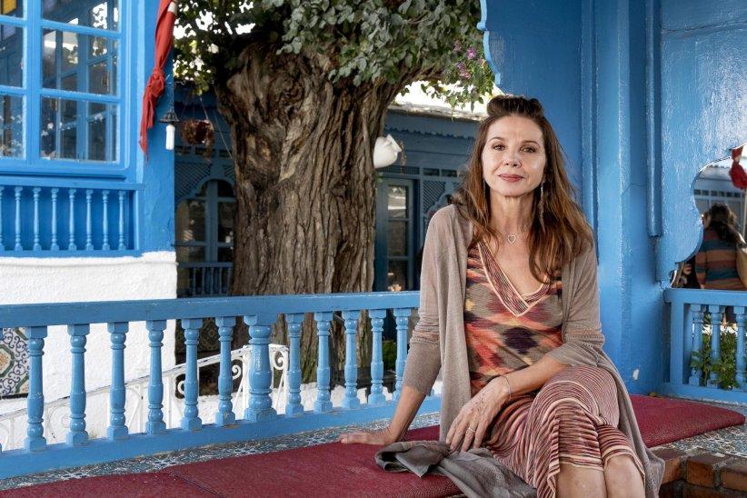 Victoria Abril, en marge du 26e Festival de Carthage, en novembre 2015.