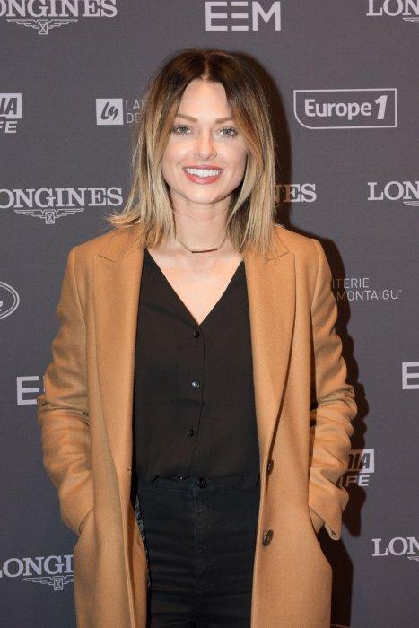 Caroline Receveur à la soirée Longines Paris Master, à Villepinte, au nord de Paris, le 1er décembre 2016.