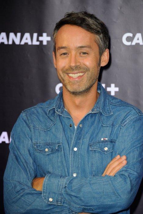 Yann Barthes assiste à la soirée Canal+ à Paris, le 28 août 2013.