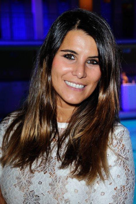 """Karine Ferri à la """"pool party"""" Fitbit à l\"""