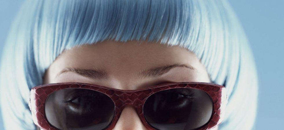 Les cheveux denim, pour voir le monde en bleu !