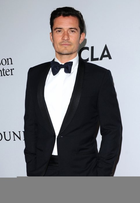 Orlando Bloom assiste au dîner de la fondation Parker à Los Angeles, le 13 avril 2016.