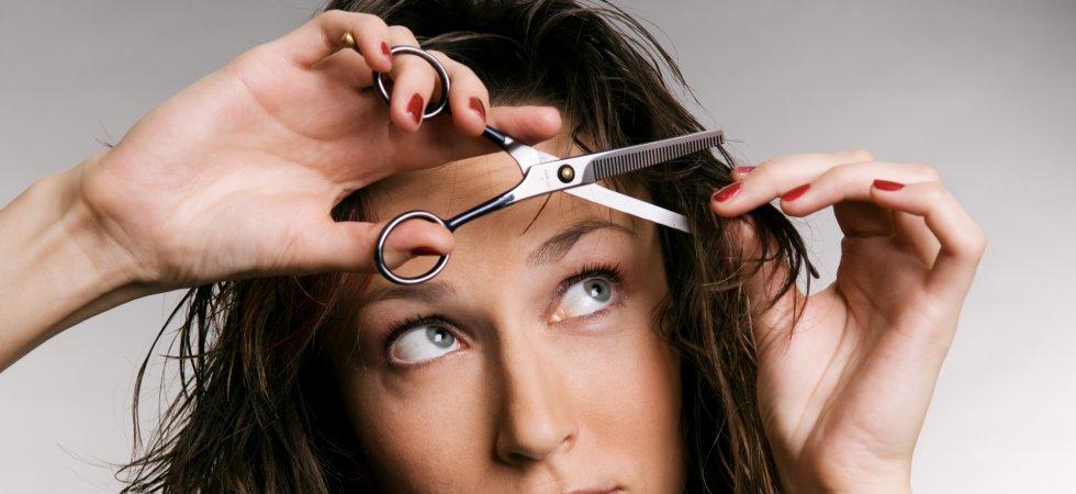 Comment bien se couper les cheveux toute seule ?
