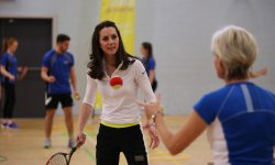 Kate Middleton se met au tennis avec la mère d'Andy Murray