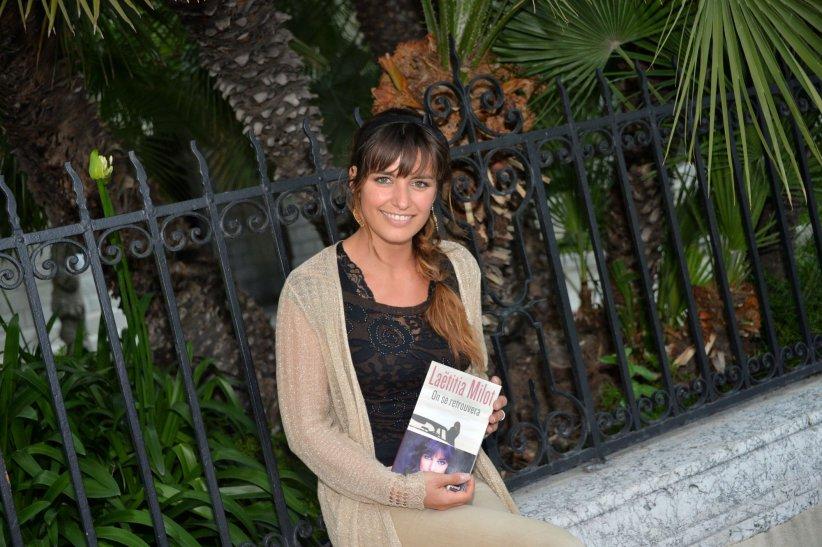 Laetitia Milot, en marge du Festival du Livre de Nice, le 9 juin 2013.