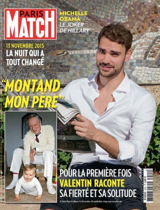 Couverture de Paris Match, en kiosque le 3 novembre 2016.