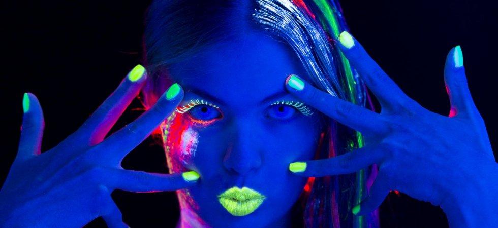 Succomberez-vous à la folle tendance des cheveux phosphorescents ?