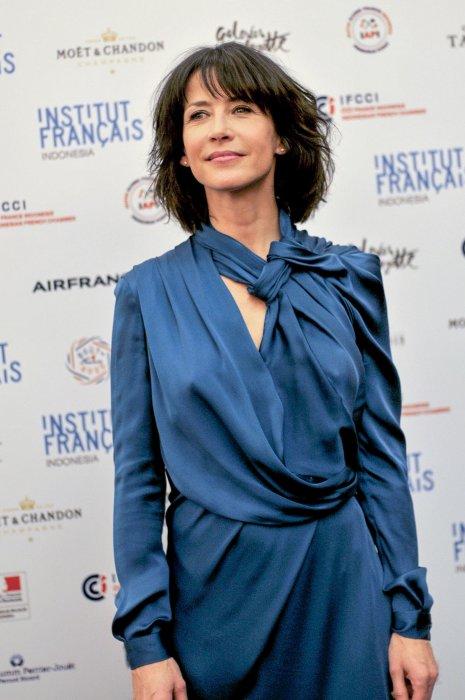 Sophie Marceau lors d\