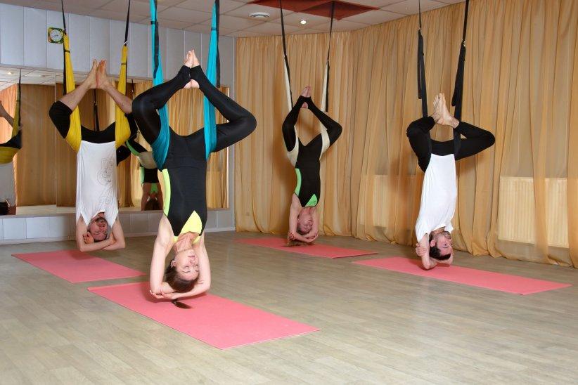 Le Fly Yoga : le yoga aérien pour renforcer ses articulations