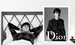 Alain-Fabien Delon prend la pose pour Dior