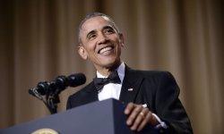 Barack Obama a fait le show lors du dîner des correspondants