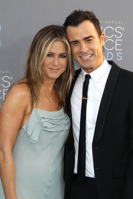 Jennifer Aniston et Justin Theroux à la 21e cérémonie des Critics\