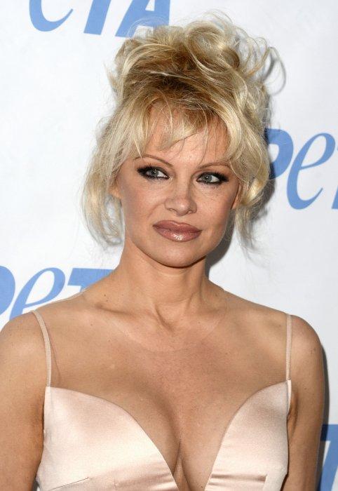 """Pamela Anderson assiste à la soirée """"Launch party for Prince\"""