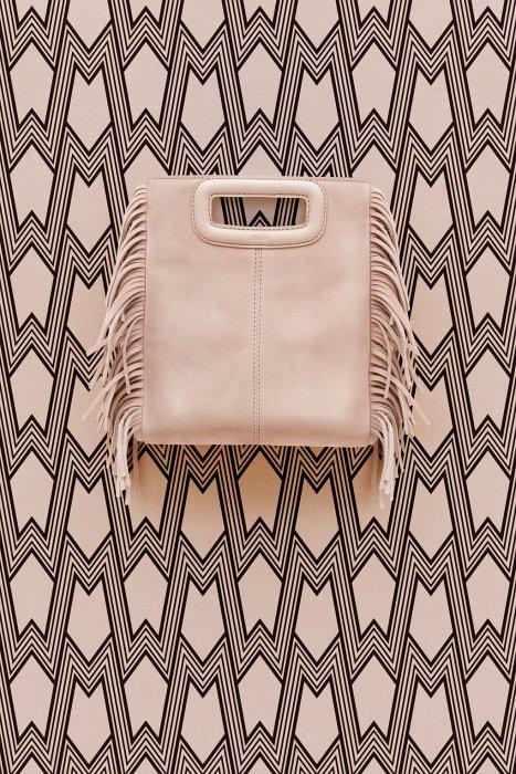 Le sac M de Maje en couleur nude pour les romantiques !