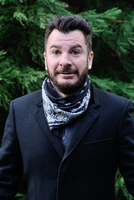 Michaël Youn, lors du 23e Festival International du Film Fantastique de Gérardmer, le 29 janvier, 2016.