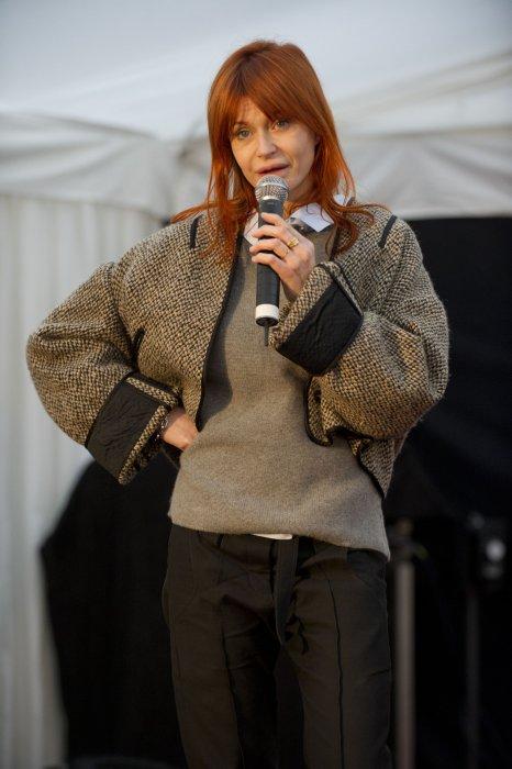 Axelle Red présente son exposition Axelle Red, Fashion Victim à Hasselt, en Belgique, le 25 janvier 2013.