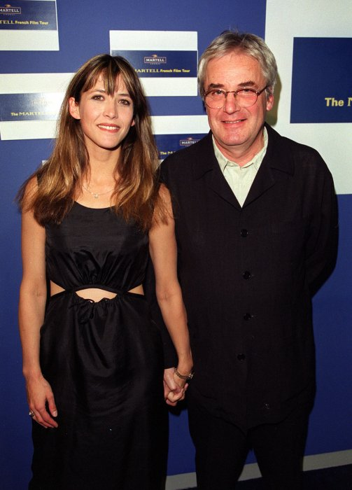 Sophie Marceau et Andrzej Zulawski assistent à la première de La Fidélité à Londres en 2000.