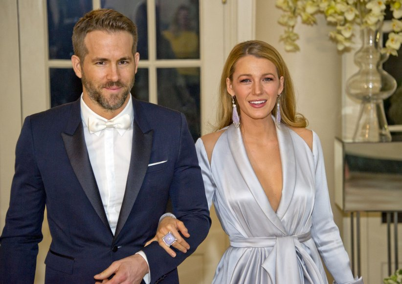 Ryan Reynolds et Blake Lively, assistent à un dîner d\