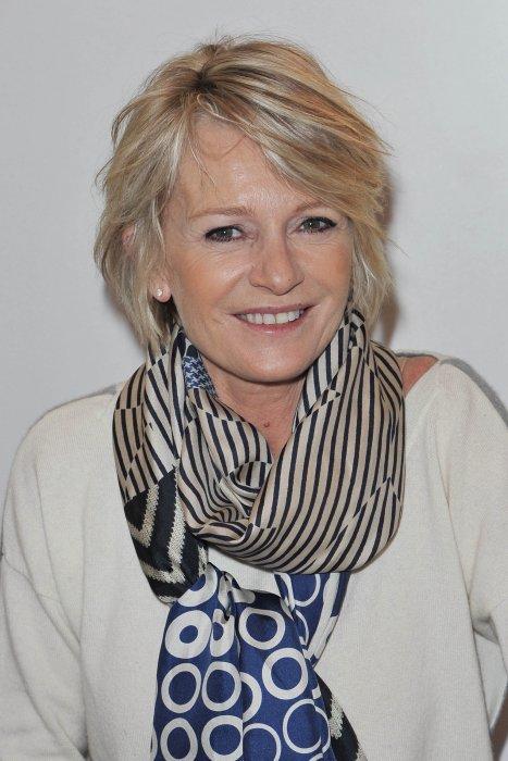 Sophie Davant au Salon du Livre à Paris, le 21 mars 2015.
