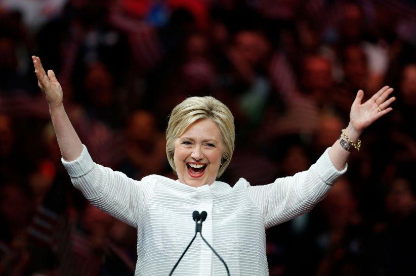 Hillary Clinton est officiellement la candidate démocrate