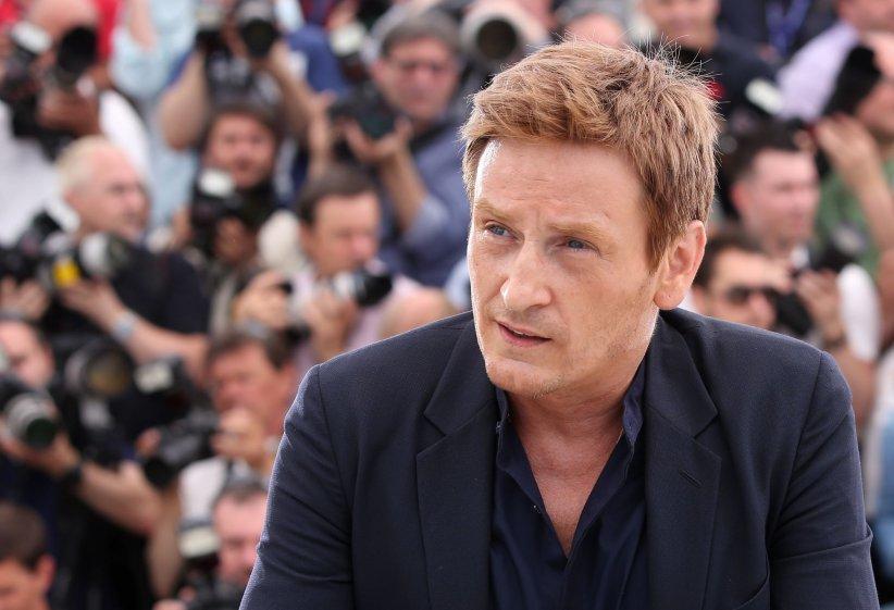 Benoît Magimel au cours du 68e Festival de Cannes, le 13 mai 2015.