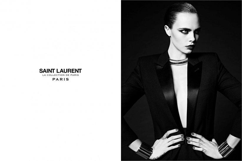 Cara Delevingne est la nouvelle égérie Saint Laurent.