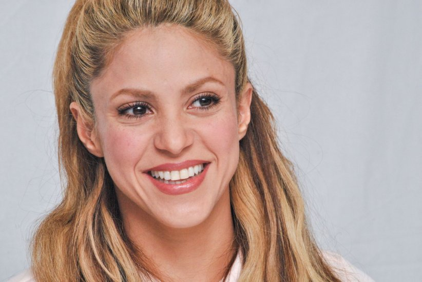 Shakira, en pleine conférence de presse du film  Zootopie , à Los Angeles, le 17 février 2016.