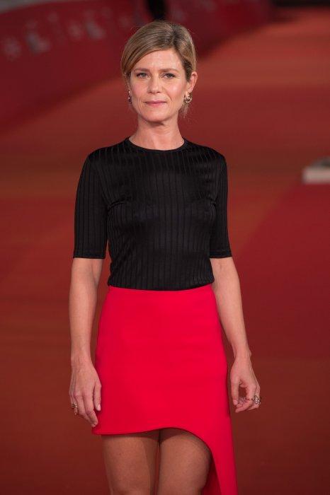 Marina Fois lors du 11e Festival du Film de Rome, le 17 octobre 2016.