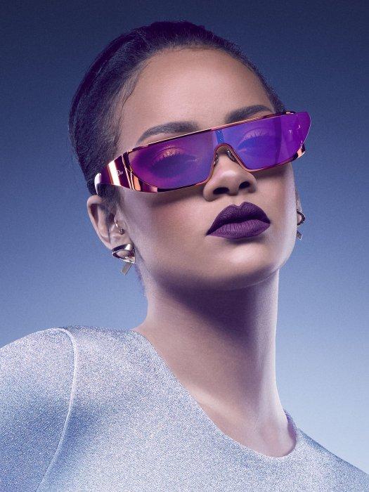 Rihanna imagine des solaires pour Dior.