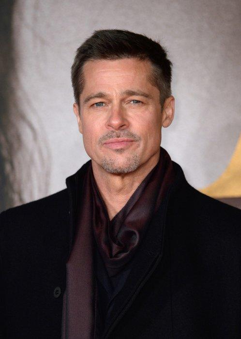 Brad Pitt assite à l\