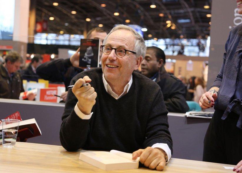 Fabrice Luchini, lors du 36e Salon du Livre à Paris, le 19 mars 2016.