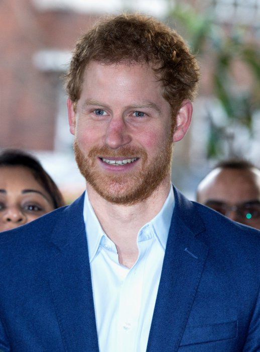 Le prince Harry en visite au service ambulancier de Waterloo Road à Londres, le 2 février 2017.