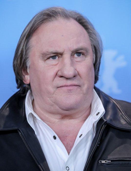 Gérard Depardieu lors de la Berlinale en Allemagne, le 19 février 2016.