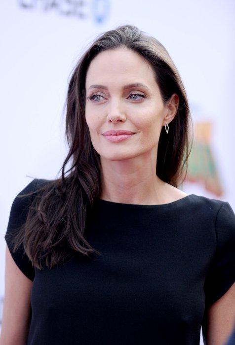 Angelina Jolie assiste à la première du film Kung Fu Panda 3 à Los Angeles, le 16 janvier 2016.
