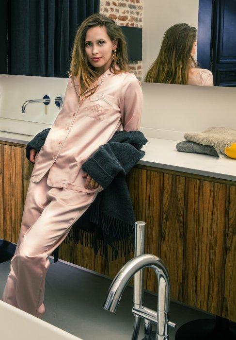 Le pyjama en soie : le comble de la délicatesse