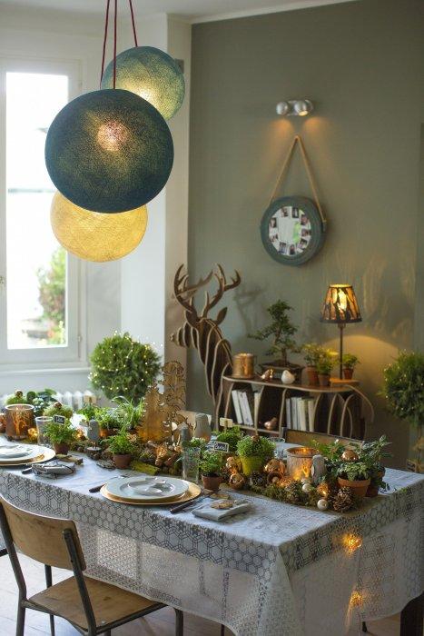Pour Noël, invitez la nature à votre table