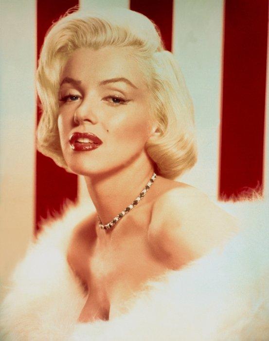 Marilyn Monroe dans les années 50.