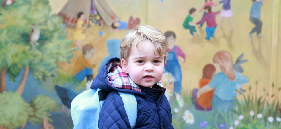 Le prince George fait sa première rentrée des classes !