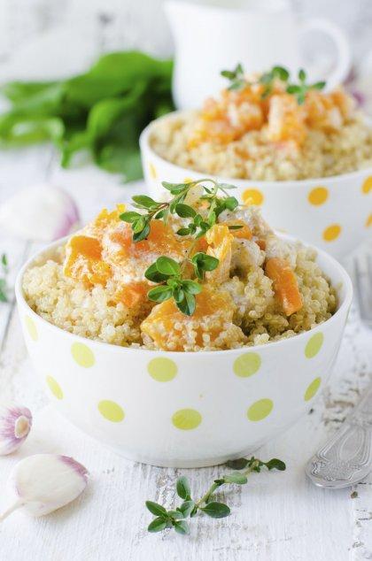 Risotto de quinoa au potiron