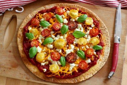 Tortilla comme une pizza
