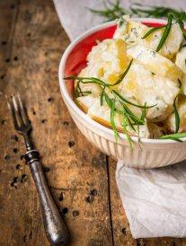 Salade de pommes de terre à la crème