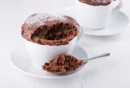 Gâteau au chocolat facile et rapide au micro-ondes